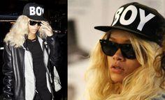 Yer boi! Boy cap as seen on Rihanna now at ddgboutique http://shop.dropdeadgorgeousdaily.com/shop/boy-girl-cap-2/