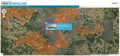 Paris Métropole 2020 : tous les projets du Grand Paris sur Google Maps