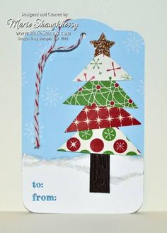 DSP Tree Tag by Card Shark - Cards and Paper Crafts at Splitcoaststampers