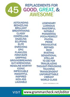 Other ways to say Awesome, Great English Writing Skills, Book Writing Tips, Learn English Grammar, English Vocabulary Words, Learn English Words, English Phrases, English Language Learning, Writing Words, Essay Writing