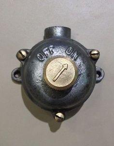 Vintage Industrial Light Switch | eBay