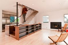 The staircases in everyone's house give us the possibility of combining both utility and design, for a more stylish air in the house they are in. The first utility of the stairs is to connect two floors of a building, but designers decided this should not be the only utility, therefore these stairs can serve …