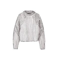 Good objects - Isabel Marant newt oversized knit sweater @isabelmarant #isabelmarant #goodobjects