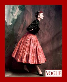 Image from http://highlowvintage.com/wp-content/uploads/2014/08/John-Rawlings-captures-model-Suzy-Parker-in-this-photograph-for-the-October-1953-VOGUE.-Givenchy-skirt.-FINAL-INSTA.jpg.
