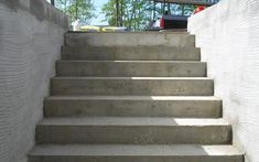 Concrete walkout basement, prior to seal coating