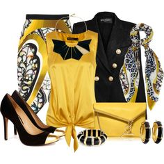 """Black and Yellow"""
