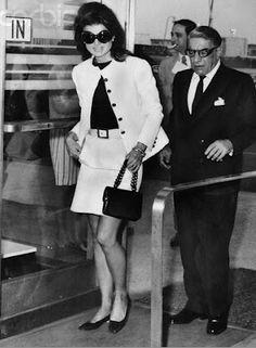 Jackie Kennedy Onassis and Aristotle Onassis