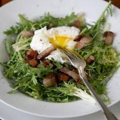 Frisee Salade aux Lardons
