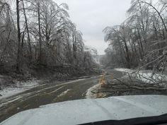 2015 - Ice Storm - White, Cumberland,Putnam, Dekalb and Warren Counties in Tennessee