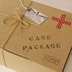 An old-fashioned Get Well Care Package is perfect for letting loved ones or friends know how much you care.