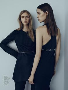 georgia hilmer and hedvig palm by matthew sprout for styleby #31 - Calvin Klein