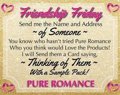 Pure Romance Games, Pure Romance Party, Romance Tips, Pure Romance Consultant, Beauty Consultant, Passion Parties, Card Sayings, Facebook Party, Friendship
