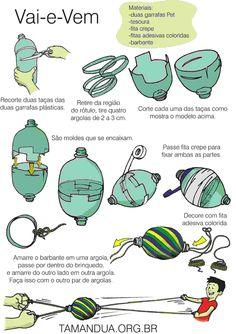 www.tamandua.org.br reuse, plastic bottle