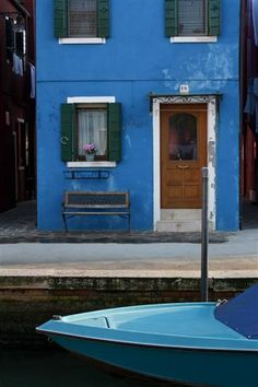 """Burano Blues"" by Rebecca Plotnick"
