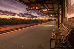 View from a an empty platform.  #warrnambool #destinationwarrnambool #visit12apostles #greatoceanroad #visitvictoria #sky_sultans #epic_captures #iloveaustralia #wow_australia #ausfeels #australiagram #ICU_sunset #jaw_dropping_shots #superhubs_shot #sky_painters #FocusAustralia #aussiephotos #sunset_hub #sunset_vision #super_photosunsets #sunset_stream #travel_captures #trainstation by mtberharry