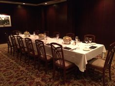 main room at mortons restaurant nashville downtown rehearsal dinner or bachelor dinner, #nashvillebachelorparty, #nashvillerehearsaldinner, #nashvillewedding