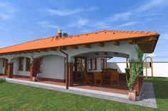 ház homlokzat - Google keresés Gazebo, Pergola, Traditional House, My Dream Home, Countryside, House Plans, Outdoor Structures, House Design, Outdoor Decor