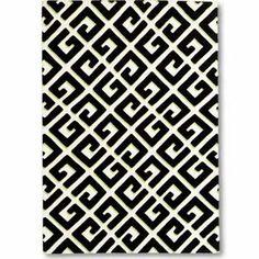 Geometric G, Florence Broadhurst #rug