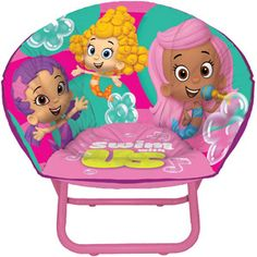 Nickelodeon Bubble Guppies Toddler Saucer Chair - not party of the bday ideas, but love to have this for the lil' gal