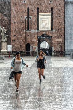 Under the rain by MaurizioConsentino