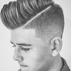 Undercut with Comb Over 003 Hairstyles and Haircuts for Boys and Men in 2017