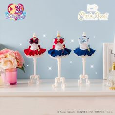"""Sailor Moon"" Miniature Dress Set for Your Room Interior Sailor Moon Games, Sailor Moon Toys, Sailor Moon Dress, Sailor Moon Collectibles, Saylor Moon, Sailor Moon Merchandise, Otaku Room, Sailor Moon Wallpaper, Sailor Mercury"