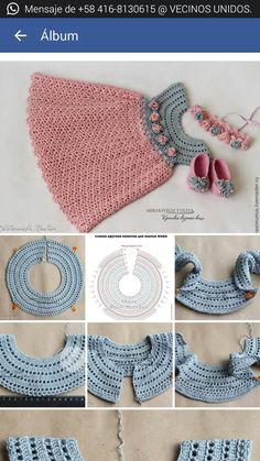 Crochet Vest Pattern Knit Crochet Crochet Patterns Crochet Baby Booties Baby Girl Crochet Crochet For Kids Baby Knitting Hand Embroidery Baby Dress Duplicate from picture no pattern Beris Agnew's media statistics and analytics This model is a cardigan tha Crochet Baby Dress Pattern, Crochet Yoke, Crochet Fabric, Baby Girl Crochet, Crochet For Kids, Crochet Diagram, Crochet Patterns, Crochet Hats, Crochet Toddler Dress