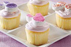 Fluffy Bunny Cupcakes