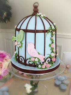Things Festive Wedding Blog: Love Bird Wedding Cakes