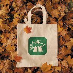 Image of BD - Tote Bag (Oh Tannenbahn)