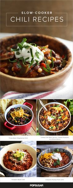 Chili and slow-cookers go hand in hand as the former benefits greatly from gently simmering away. So much so, that we were able to round-up 13 different variations on the dish. Keep reading for versions starring beef, turkey, chicken, and pork, as well as vegetarian options.