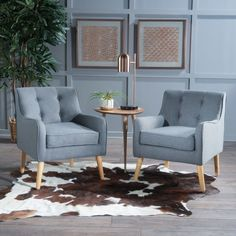 Serenity Mid Century Armchair (Set of by Langley Street Decor, Furniture, Armchair Sets, Living Room Chairs, Furniture Decor, Home Decor, Bedroom Seating Area, Armchair, Modern Furniture Living Room