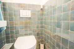 Zelliges, 10×10, Blauw / Blue Delave #toilet #wand #wall #tegels #tiles