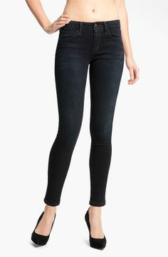 Joe's Skinny Stretch Ankle Jeans (Tabitha Blue/Black) available at #Nordstrom