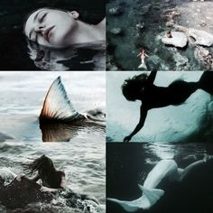 Fae Aesthetic, Aesthetic Collage, Moon Pool, Everything Is Blue, Sea Witch, Merfolk, Altars, Photo Reference, Magical Girl