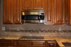 Glass Tile Backsplash Ideas | kitchens - glass mosaic tile, subway tile, back splash, granite ...