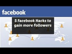 5 Facebook Hacks to get MORE followers