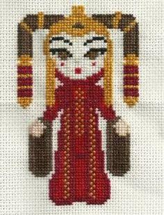 Queen Amidala Cross Stitch - Craftster.org