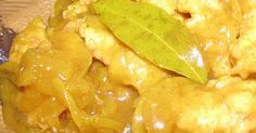 Curry Fish Recipe (excl- sugar, careful with onions) South African Recipes, Indian Food Recipes, Real Food Recipes, Fish Dishes, Seafood Dishes, Fish Curry, Orange Recipes, Canning Recipes, Fabulous Foods