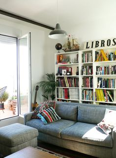 Step Into an Illustrator's Sunny, Spanish Flat | Design*Sponge