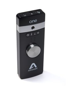 The new APOGEE ONE is a portable audio interface and microphone priced at $349, designed to interface with most Apple products.