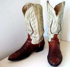 vintage Ralph Lauren cowboy boots