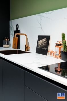 Kitchen Interior, Interior And Exterior, Interior Design, Living Room Kitchen, New Kitchen, Dream Apartment, Minimalist Kitchen, Home Kitchens, Kitchen Remodel
