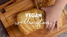 Vegan Wellington that is so dang flavorful and perfect for the holidays! Made with lentils, sunflower seeds, kale, and more tasty ingredients. Vegan Thanksgiving, Thanksgiving Sides, Vegan Dishes, Vegan Food, Vegan Wellington, Lentil Meatballs, Homemade Body Wash, Vegan Pie Crust, Cooking