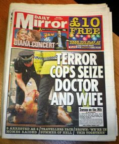 Terror cops seize Doctor and wife