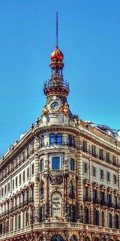 Calle de Alcalá, Madrid España