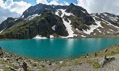 """Blaue Lacke"""" moraine lakeǀ Stubaital Tirol"""