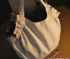 Cartamodello gratis borsa di stoffa capiente