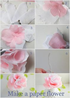 Create these flowers for any occasion.  Very beautiful!