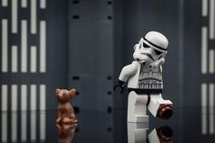 Master your Force by building the LEGO® Star Wars play sets. Featuring vehicles, minifigure characters, locations, and buildable figures from the Star Wars films and television series, including The Force Awakens. Lego Star Wars, Finn Star Wars, Star Wars Film, Star Wars Art, Lego Humor, Lego Memes, Lego Stormtrooper, Starwars Lego, Star Wars Quotes